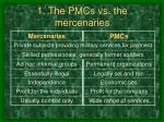 1 the pmcs vs the mercenaries