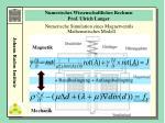 numerisches wissenschaftliches rechnen prof ulrich langer9