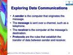exploring data communications37