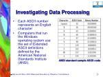 investigating data processing25