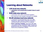 learning about networks48