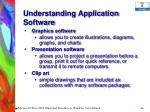 understanding application software66