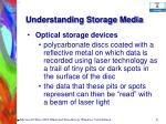 understanding storage media31