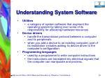 understanding system software59