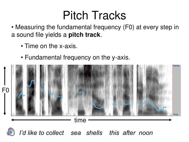 Pitch Tracks