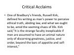 critical acclaims