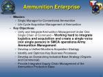 ammunition enterprise