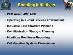 enabling initiatives