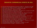 industry commercial events in usa