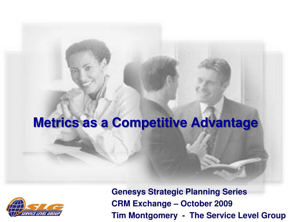 metrics as a competitive advantage l.