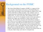 background on the fomc