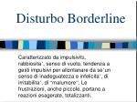 disturbo borderline