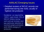 aaalac emerging issues44