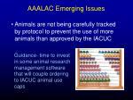 aaalac emerging issues46