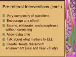 pre referral interventions cont46