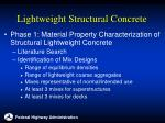lightweight structural concrete10