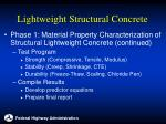 lightweight structural concrete11
