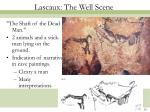 lascaux the well scene