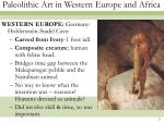 paleolithic art in western europe and africa8