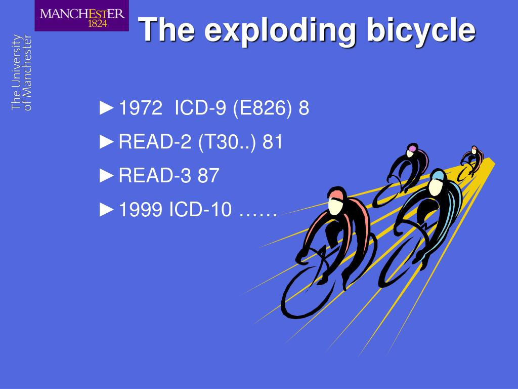The exploding bicycle