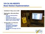 vii ca ha ndgps base station implementation