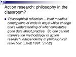 action research philosophy in the classroom2