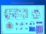 condensator desen de ansamblu