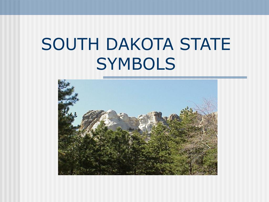 south dakota state symbols l.
