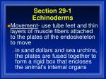 section 29 1 echinoderms23