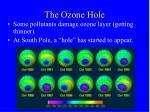 the ozone hole43