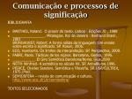 comunica o e processos de significa o2