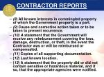 contractor reports32