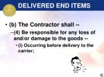 delivered end items51
