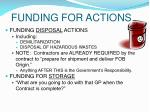funding for actions26