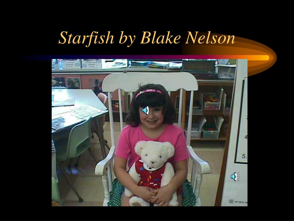 starfish by blake nelson l.