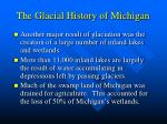 the glacial history of michigan17