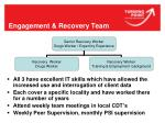 engagement recovery team