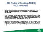 hud notice of funding nofa 4000 vouchers24