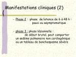 manifestations cliniques 2