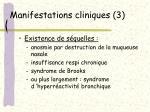 manifestations cliniques 3