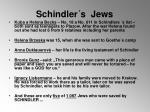 schindler s jews