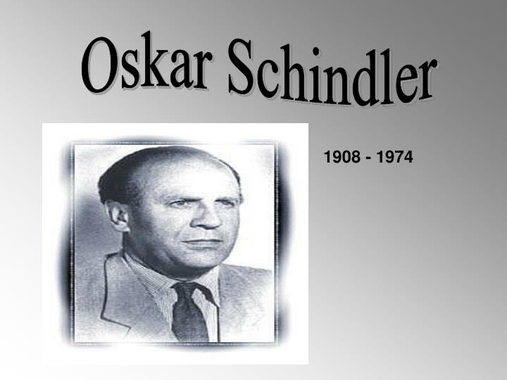 a biography of oskar schindler Oskar schindler was a german industrialist, former member of the nazi party and possibly the most famous righteous gentile who is credited with saving as many as 1,200 jews during the holocaust his story was brought to international acclaim by the 1982 novel schindler's ark and the 1993 film, schindler's list.