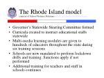 the rhode island model courtesy of school violence solutions www schoolviolencesolutions com