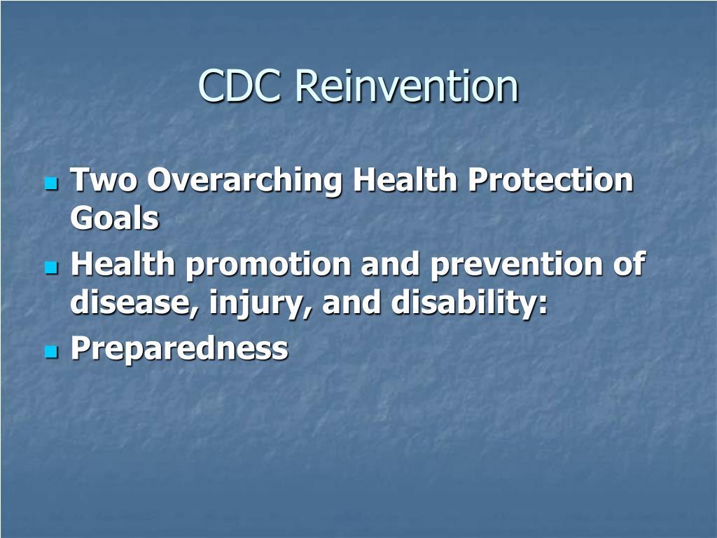 CDC Reinvention