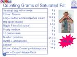 counting grams of saturated fat62