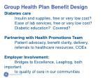 group health plan benefit design86