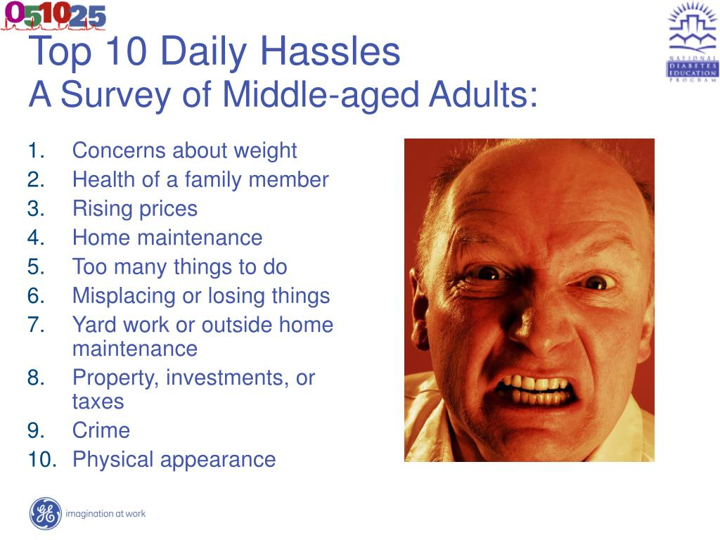 Top 10 Daily Hassles