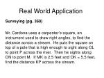 real world application150