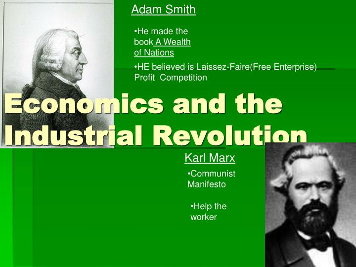 economics and the industrial revolution n.