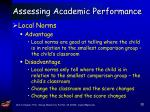 assessing academic performance33